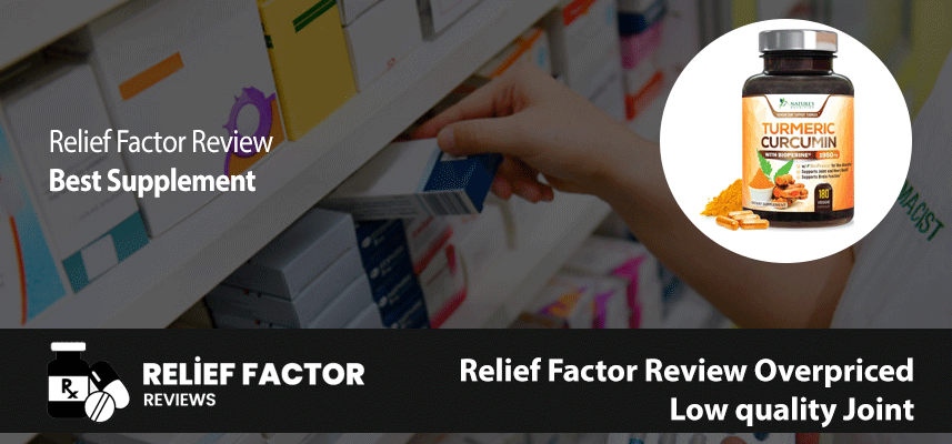Relief Factor Review Overpriced, Low quality Joint
